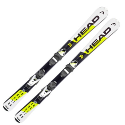 [18/19] HEAD Supershape Team SLR 2 117 - 157 cm + SLR 7.5 AC BRAKE 78 [H] WHITE/BLACK